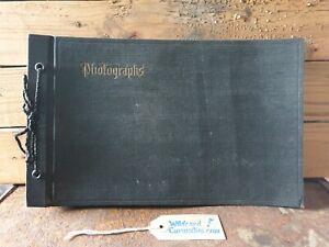 Eastman Kodak 1900s photo album