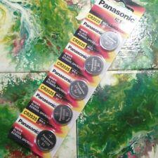 5x Panasonic CR2025 CR 2025 3V Lithium Button Coin Cells Batteries [MADE 2020]