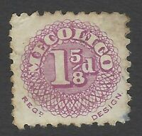 CINDERELLAS : GB MECOLICO 1 5/8d red record stamp?