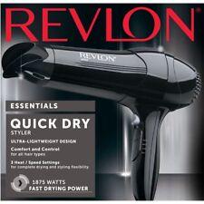 Revlon Frizz Control 1875W Tourmaline Ceramic Hair Blow Dryer Black NEW STOCK