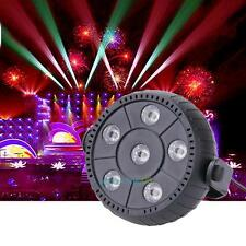 6 RGB LED Stage Laser Projector Lighting Dance Party Disco DJ Club LED Par Light