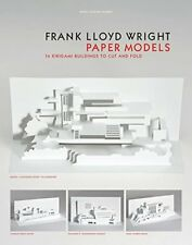 NEW Frank Lloyd Wright Paper Models: 14 Kirigami Buildings to Cut and Fold