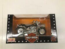 Harley Davidson Fat Boy Fistf Maisto Married Davidson 1-18 Scale Replica