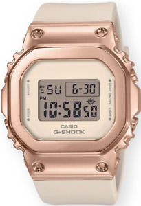 Casio G-Shock Stainless Steel Pink Metal GMS5600PG-4 Rose Gold Women's Brand New