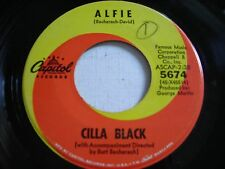 Cilla Black Alfie / Night Time is Here 1964 45rpm VG++