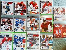 Lot of 14 Games - XBOX 360, PS3, Wii - NHL, FIFA, Madden - Sports