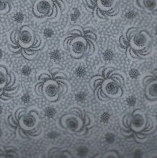 Compose gray floral David blender fabric