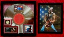 Bruce Springsteen  BORN IN THE U.S.A.  PLATINUM RECORD AWARD  + 8 X 10 CONCERT G