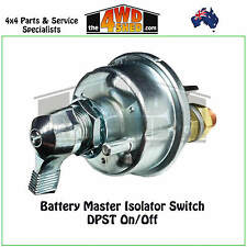 Battery Master Isolator Switch DPST On/Off Winch 12/24v volt Winch