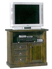 Porta tv arte povera mobile televisore classico soggiorno portatv carrello