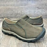 Keen Womens Sister Hiking Walking Trail Shoe Slip On Brown Leather 1009312  Sz 8