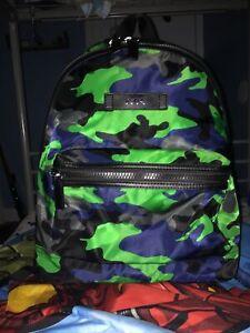 michael kors backpack Green Camo