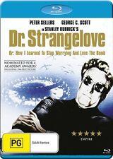 Dr Strangelove NEW B Region Blu Ray