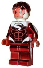 **NEW** LEGO Custom Printed - CHROME RED SUPERMAN - DC Universe Minifigure
