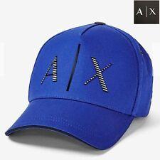 A|x Armani Exchange Men Fall 2015 Black Baseball 3d Logo Cap Hat