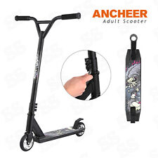 Ancheer Adult Teens Extreme Kick Scooter T-Style Handlebar Push Scooter Outdoors
