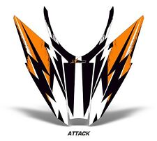 Arctic Cat Pro Climb Pro Cross Sled Sticker Decal Hood Graphic Kit 2012 ATTK ORG