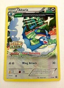 Pokemon Roaring Skies ALTARIA XY46 Holo Prerelease STAFF Promo M/NM