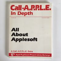 Call Apple In Depth All About Applesoft PugetSound Program Library Exchange