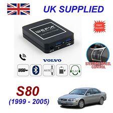 For Volvo S80 Music Streaming Bluetooth Telephone SD AUX CD Digital Module HU
