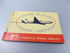 "Wiking: Heft mit Aufklebern ""Par Avion Via Air Mail, Pan American World"" (GK60)"