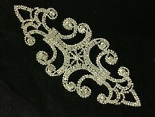 Rhinestone Brooch Applique Costume Dress Sewing Wedding Belt Cake Decoration #36