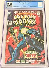 Marvel Super-Heroes #13 3/68 CGC 8.0 ow/w pgs (1st app Carol Danvers)