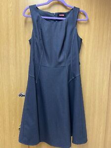 BNWT Ladies Grey Pinafore Dress From NEXT TAILORED UK 10