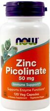 Now Foods Zinc Picolinate 50mg 120 capsules