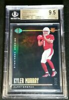 BGS 9.5 1/1 KYLER MURRAY RC /25 *SSP BLACK *TRUE ROOKIE #1 2019 Panini Illusions