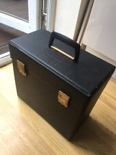 Vintage Record Case-Black -used