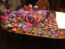 HUGE MY LITTLE PONY LOT- 26 PONIES Friendship train-Remote car-over 225 pieces!