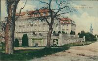 Ansichtskarte Brühl Königl. Schloß 1913 mit Park  (Nr.879)