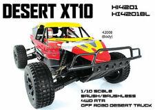 DESERT RACER XT10 BUGGY ELETTRICO RC-550 1:10 ESC 150A 2.4GHZ HI4201 HIMOTO