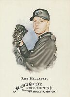 2008 Topps Allen and Ginter Toronto Blue Jays Baseball Card #4 Roy Halladay