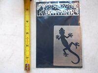 Dreamweaver Metal Stencil Salamander Lynell Harlow Embossing Stenciling