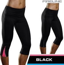 Ladies 3/4 Yoga Pants Gym Sports Casual Clothing Capri Compression Tights socks