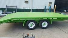 FLAT BED TRIAL AXLE TRAILER 4.25 X 2.15 RATED 4500KG GVM