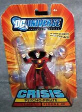 DC UNIVERSE CRISIS 2008 PSYCHO-PIRATE FIGURE SET