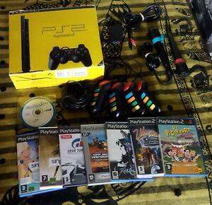 PS2 SLIM playstation 2 ESPAÑA Completa + Accesorios, Caja, juegos, swap magic 3