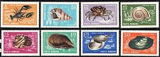 Romania 1966 Crabs and Snails 9.99  Complete Set of Stamps MNH
