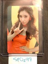 Yuri SNSD Girls' Generation - Hoot Type A Photocard  photo card