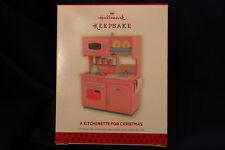 Hallmark Keepsake Christmas Tree Ornament A Kitchenette For Christmas 2013