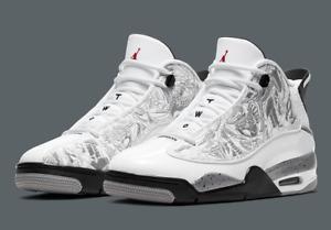 """Nike Air Jordan Dub Zero """"White Cement"""" Size UK 7-11 EU 41-46 (331046 105)"""