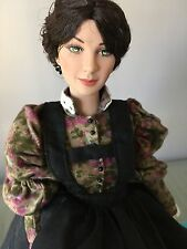 "Tonner 16"" Vinyl Doll SCARLETT in I'll Never Go Hungry Again Ensemble + Stand"