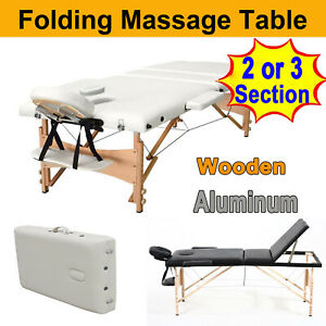 Extra Large Massage Table Portable Fold w/ Carry Case Reiki Chiropractic 500lbs