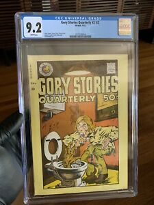 Gory Stories Quarterly #2.5 CGC 9.2 Underground Comix John Pound Garbage Pail