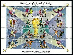 Libya 1203 MNH 1984 Soccer Championships Spain x16827
