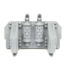 Rear Engine Plate with Trench Rails