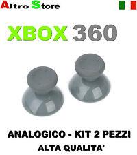 KIT 2PZ JOYSTICK ANALOGICO CONTROLLER JOYPAD THUMBSTICKS XBOX 360 RICAMBIO GIOCO